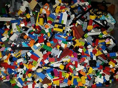 1 Lb Bulk Lot of Assorted Loose LEGO Pieces Mixed lot