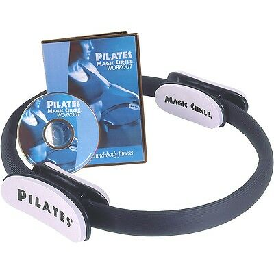 Resistencia Aeropilates Magic Circle Pilates Anilla con Ejercicio DVD, 05-0020R