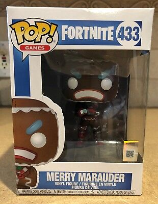 Funko POP! Games: Fortnite - Merry Marauder Vinyl Figure #433 Toy Collectible