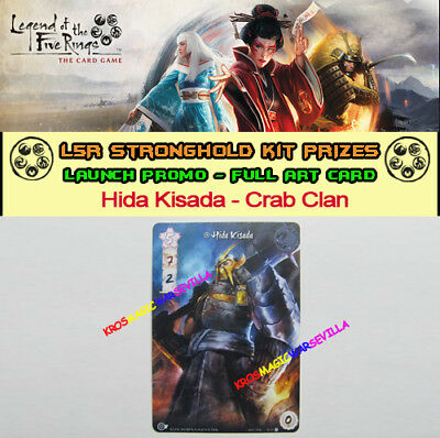 LEGEND OF THE FIVE RINGS LCG - Hida Kisada Crab Clan -Promo Stronghold Kit