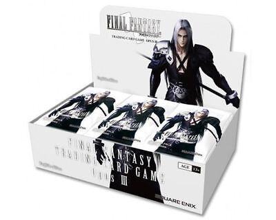 Final Fantasy TCG Trading Card Game OPUS 3 III Booster Box New/Sealed