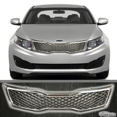 KI1200143 CPP Black Grille for 2011-2013 Kia Optima