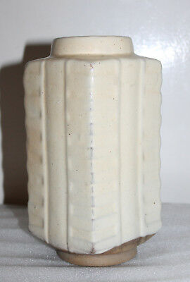 """A RARE 8.2"""" Chinese Northern Sung Cong Vase 'Hog' Signed"""