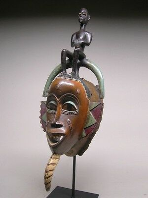 GURO TRIBE  MASK From Cote d'Ivoire ~ FANTASTIC !!!