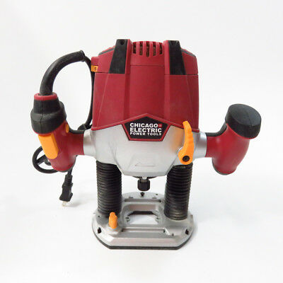Skil plunge router classic series 1835 1 3/4hp 1/4 9amp complete.