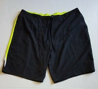 33a70aabd3 Nike Mens Trunks Black Swim Board Sports Shorts NESS8777-001 Size 3XL MSRP  $64