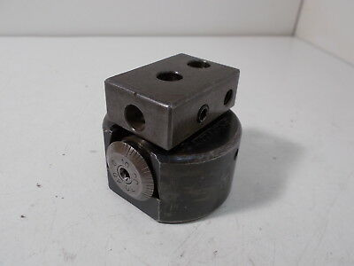 "Bridgeport No. 1 Boring Head:  5/8-18 Thread, 2-1/4"" Dia Body"
