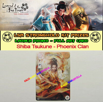 LEGEND OF THE FIVE RINGS LCG - Shiba Tsukune Phoenix Clan - Promo Stronghold Kit