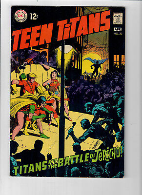 TEEN TITANS (v1) #20 - Grade 7.0 - Story & Art by Neal Adams!