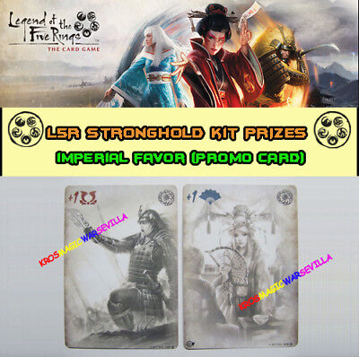 LEGEND OF THE FIVE RINGS LCG - Imperial Favor Promo Card - FFG Stronghold Kit