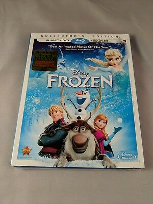 Frozen (Blu-ray/DVD, 2014, 2-Disc Set, Includes Digital Copy) COLLECTORS EDITION