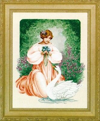 Lavender & Lace - LL45 - Lady Claire Counted Cross Stitch Pattern