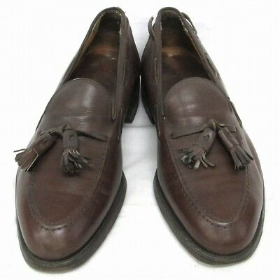 BROOKS BROTHERS Loafers with Tassels Mens Shoes Brown Free Shipping [Used]