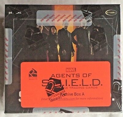 Marvel AGENTS of S.H.I.E.L.D. Season 1 Sealed Trading Card ARCHIVE BOX A & B