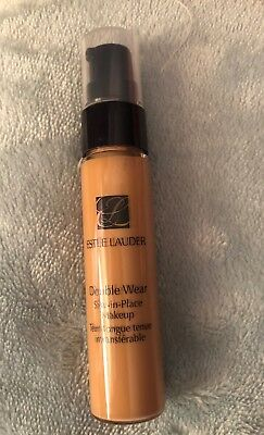 New $21 ESTEE LAUDER Double Wear  Foundation  Makeup Pump .5 oz 4N1 SHELL BEIGE