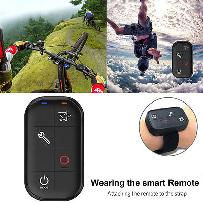 Wireless Wifi Remote Control IP67 Smart Charging for GoPro HERO 5 Session 4 3+