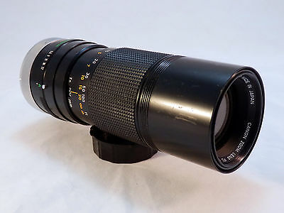 Canon Zoom Lens FD 100-200mm 1:5.6 S.C. Camera Lens~ Very Nice!!