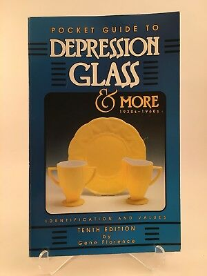 Pocket Guide to Depression Glass and More, 1920s-1960s by Gene Florence (1997, …