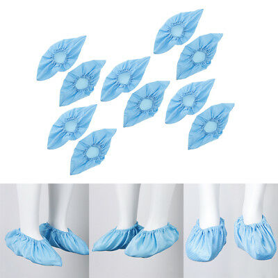 Perfeclan 5Pairs Reusable Antistatic Workshop Shoe Cover Overshoe Protector
