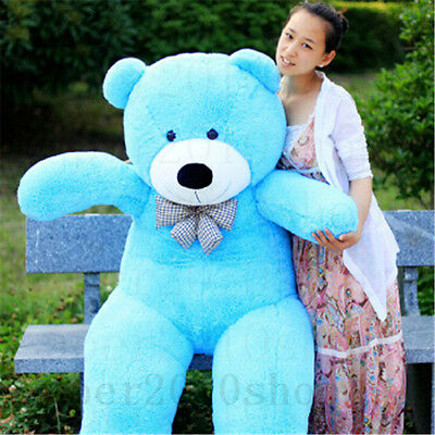 72in.Giant Huge Big Teddy Bear Stuffed Animals Plush Soft Toys Xmas Gift Dolls