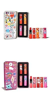 BTS BT21 Official Olive Young Lip Balm Tint Kit 3.5G  (Free Tracking)