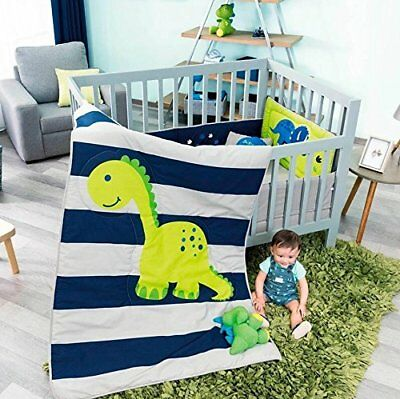 New Baby Dinosaur Boy Crib Bedding Nursery Set
