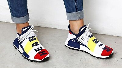 size 40 1f6dc ab3f8 PHARRELL WILLIAMS ADIDAS HU NMD BBC Size 7.5 BB9544 Billionaire Boys Club
