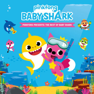 Pinkfong : Presents the Best of Babyshark CD (2018) ***NEW***