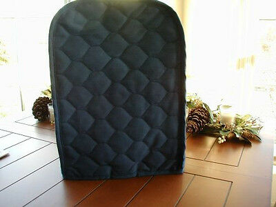 Navy Blue Appliance Cover for Kitchen Aid Mixer Blues Cotton Blend Solid quilted