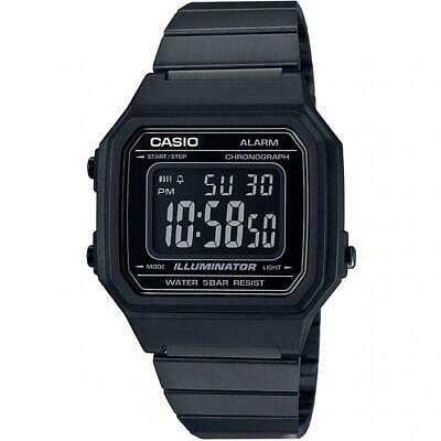 Casio Collection Retro Black Mens Watch B650WB-1BEF