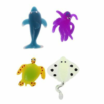 Novelty Relieve Stress Ocean Animals Dolphin Turtle Sticky Squeezing Cure Toys