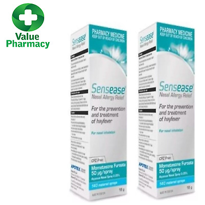 *Sensease Nasal Allergy Relief Spray 140 Dose (Same As Nasonex) x2