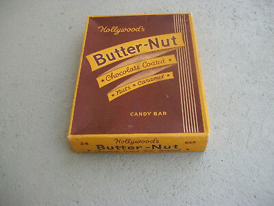 Vintage Hollywood Candy Co. Butter-Nut Candy Bar Box