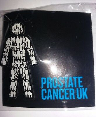 BRAND NEW Prostate Cancer UK - Men United - Pin Badge Sealed - FAST SHIPPING !