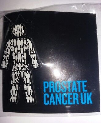 BRAND NEW Prostate Cancer UK - Men United - Pin Badge Sealed OFFICIAL !