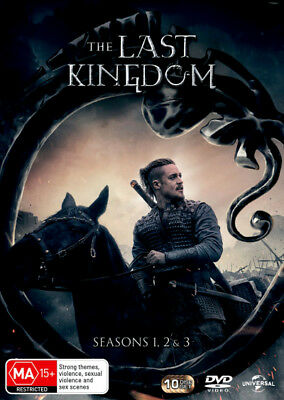 The Last Kingdom: Seasons 1, 2 & 3  - DVD - NEW Region 2, 4