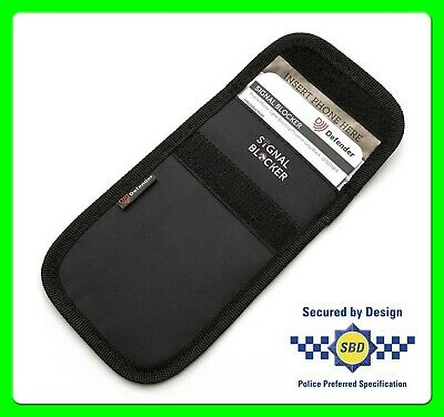 Faraday Pouch To Block All Signals From Keyless Entry Car Keys [OTO1163] Stops