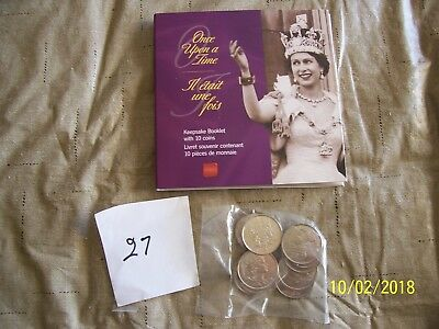 2002 Canada Once Upon A Time Keepsake Booklet (10 Uncirculated Coins)