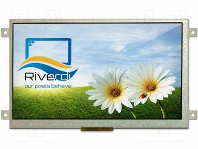"RVT70AQFFWN00 - 1st Display: TFT; 7""; 800x480; Bel: LED; Abm:165,6x100,6x9..."