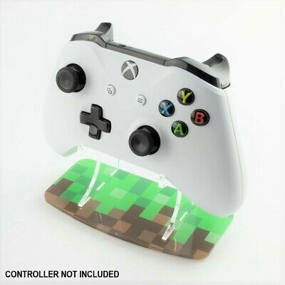 Mine Craft Pixel Style Xbox One Printed Controller Stand, Gaming Displays