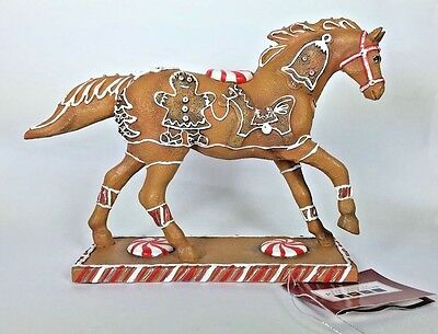 GINGERBREAD PONY Christmas 1E 6829 Trail of Painted Ponies NEW Retired Westland