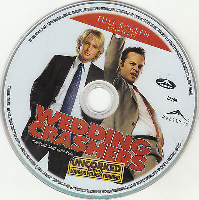 Wedding Crashers (DVD, 2006, Full Frame Unrated) DISC ONLY