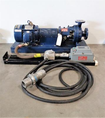 """Griswold 811S Centrifugal Pump 1.5"""" x 1"""", Stainless w/ 5HP Motor"""