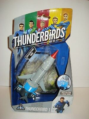Thunderbird 1 vehicle T1 - TB1 It's interactive with Tracy Island playset NEW