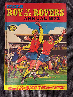 Roy Of The Rovers Annual 1973 Hardback Book Football Vintage