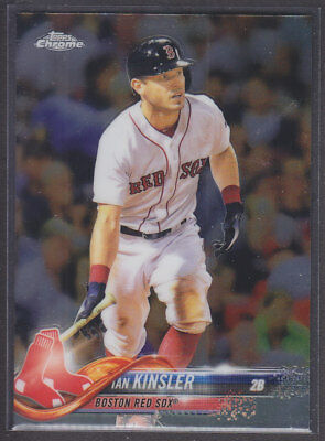 Topps - Chrome Update 2018 - Base HMT44 Ian Kinsler - Boston Red Sox