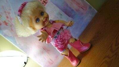 "Galoob Baby Face ""SO DELIGHTFULL DEE DEE #8"" great condition, what a CUTEY!"