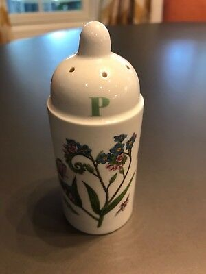 Portmeirion Pepper Shaker Botanic Garden Blue & Pink Flower Made in England