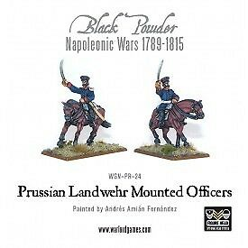 Napoleonic Wars: Prussian Landwehr Mounted Officers