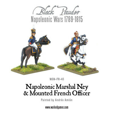 Napoleonic Wars: Marshal Ney & Mounted French Officer